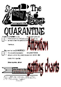 Messy Room?  Use the SLOTHFUL SERVANT QUARANTINE-GREAT RESULTS
